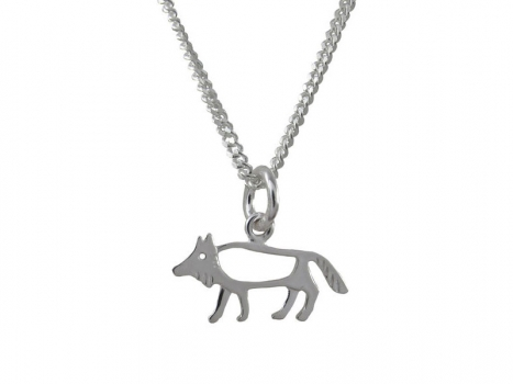 Taigakoru The Wolf, small pendant, silber