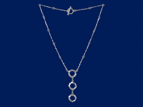 Taigakoru Spell, three-piece's Necklace, silber