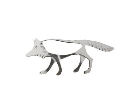 Taigakoru The Wolf, big brooch, silber