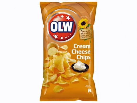 OLW Cream Cheese Chips 275g