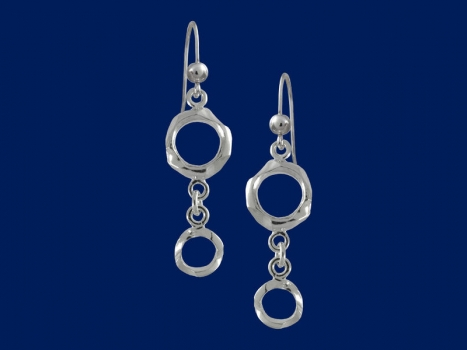 Taigakoru Spell, earrings, silber