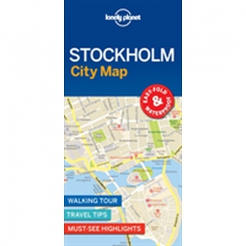 Stockholm City Map LP, Karte, Get more from your map and your trip with images and information about top city attractions, walking tour routes.