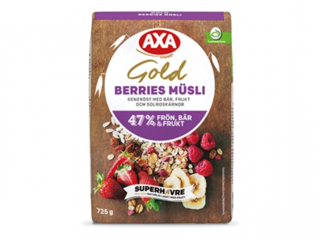 AXA Gold Berries Müsli 725g