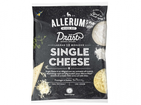 Allerum single cheese Riven 35% 150g