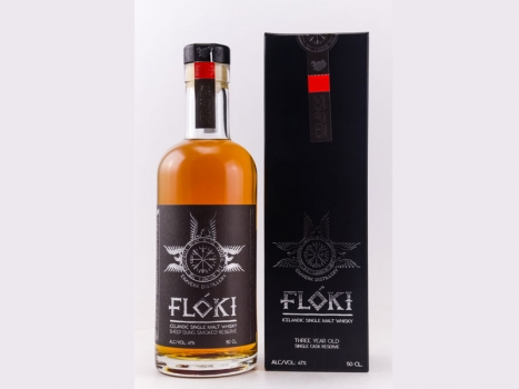 Floki Single Malt Whisky - Sheep Dung Smoked Reserve Barrel 1, 500ml