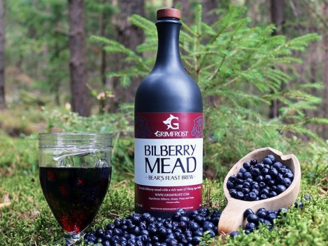 Grimfrost Bilberry Mead 750ml