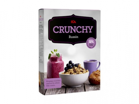 ICA Crunchy Russin 800g