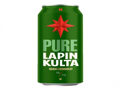 Lapin Kulta Pure 4,5% 24x330ml