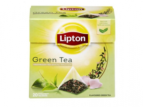 Lipton Green Tea 20-pack 040g