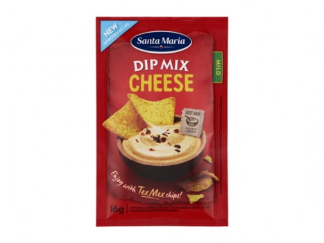 Santa Maria Dip mix Cheese 16g