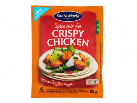 Santa Maria Crispy Chicken Spice Mix 50g