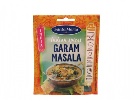 Santa Maria Indian Spices Garam Masala 33g