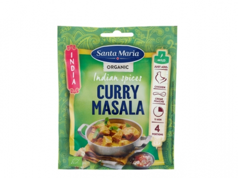 Santa Maria Indian spices Curry masala Ekologisk 30g