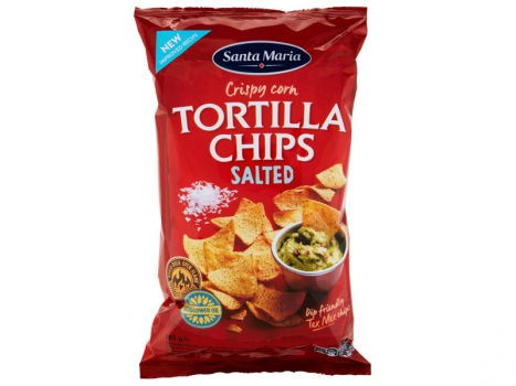 Santa Maria Tortilla Chips Salted 185g