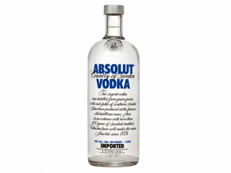 Absolut Vodka Blau 1000ml