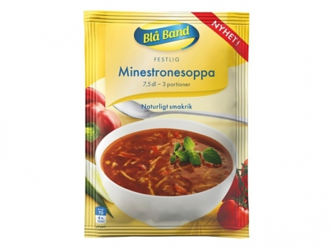 Blå Band Minestronesoppa 750ml