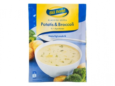 Blå Band Potatis och Broccolisoppa 1000ml