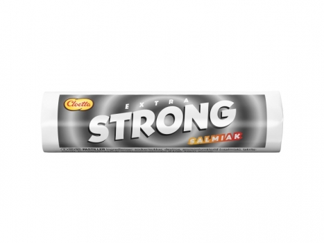 Cloetta Extra Strong Salmiak 25g
