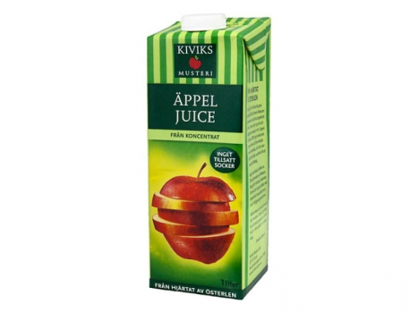 Kiviks Äppeljuice 1000ml
