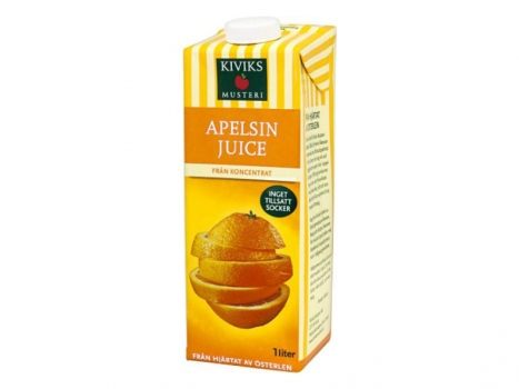 Kiviks Apelsinjuice 1000ml