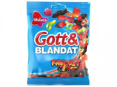 Malaco Gott & Blandat Favorit Mix 190g