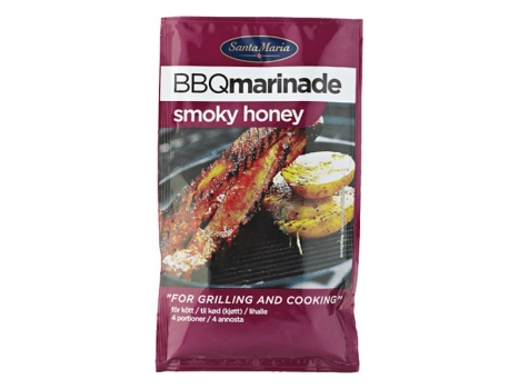 Santa Maria BBQ Marinade Smoky Honey 75g