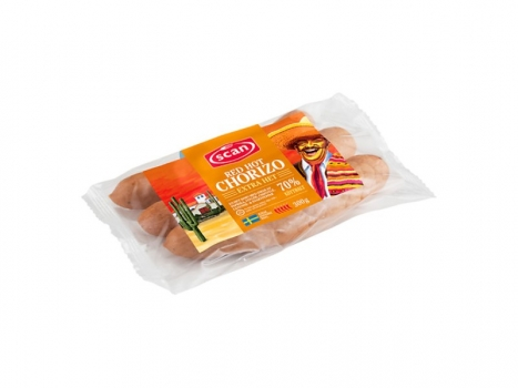 Scan Red Hot Corizo 300g