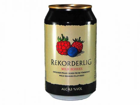 Rekorderlig Wildberries Cider 4,5% 24x330ml