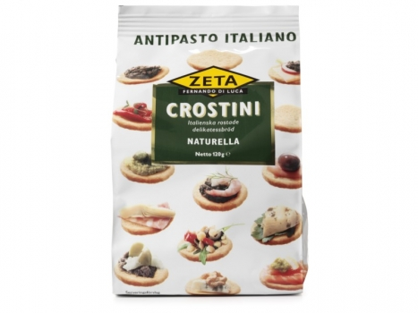 Zeta Crostini Naturella 120g