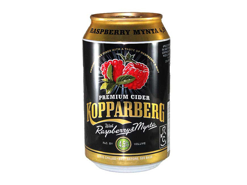 kopparbergs raspberry mynta cider. Black Bedroom Furniture Sets. Home Design Ideas
